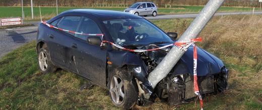 Dansk trafikkulykke
