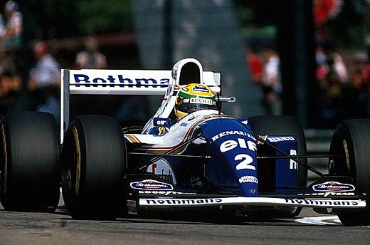Ayrton Senna er den siste F1-føreren som har omkommet i konkurranse. Bildet er tatt under løpet som krevde hans liv på Imola-banen i San Marino i 1994: Foto: © Williams/LAT.