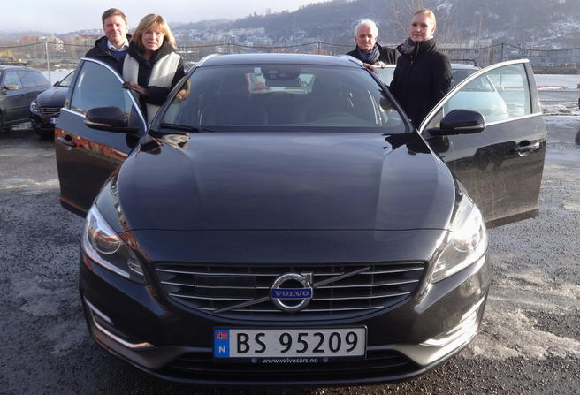 Volvo og SVV samarbeider om isvarsling