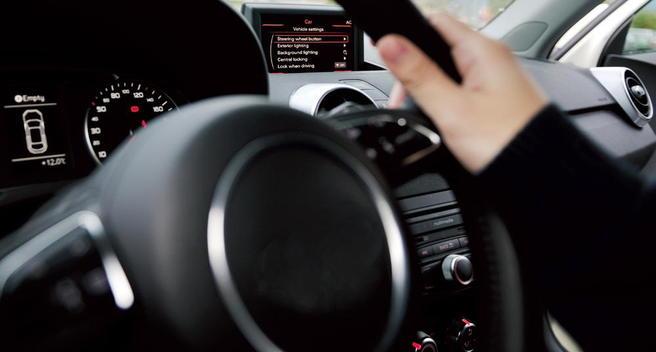 Bilde av bilratt og instrumenter