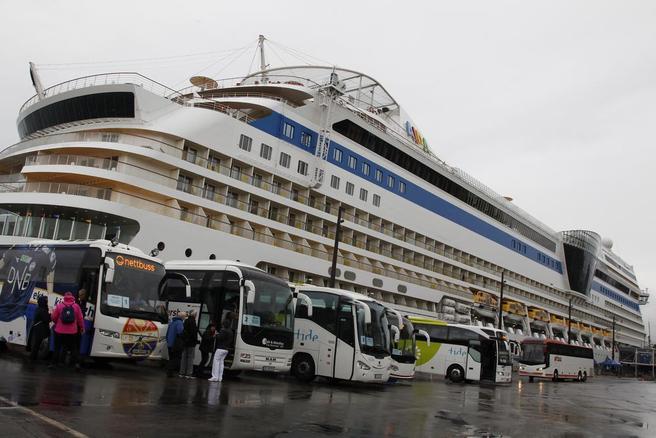 Cruiseskip i Oslo. Foto