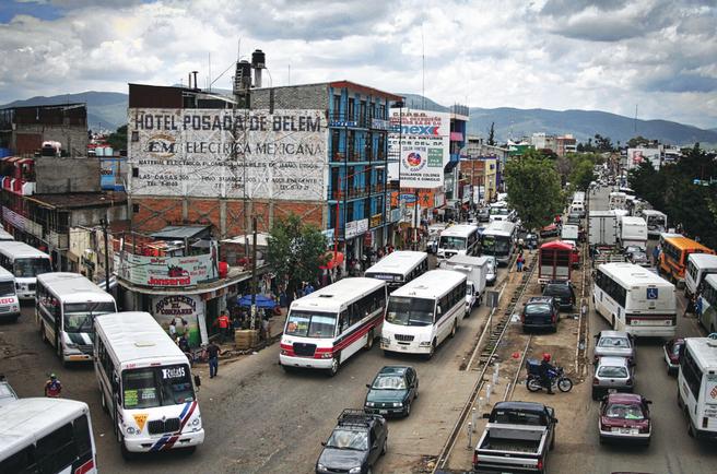 Foto. Mexico-trafikk.