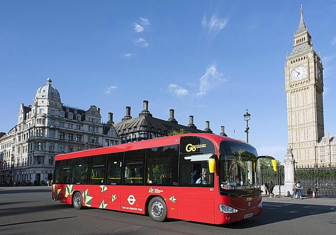 El-londonbuss. Foto