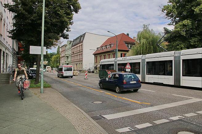 Zeppelinstrasse. Foto