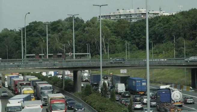 Foto motorvei Belgia