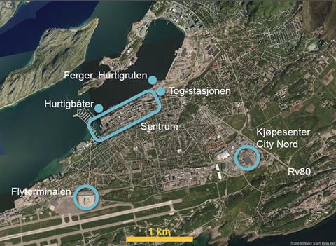 Bodø flyfoto