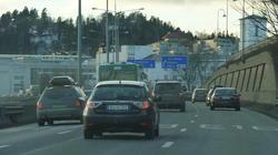 E18 ved Sandvika