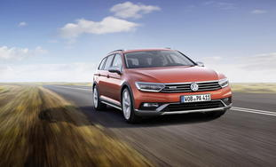 VW Passat Alltrack. foto