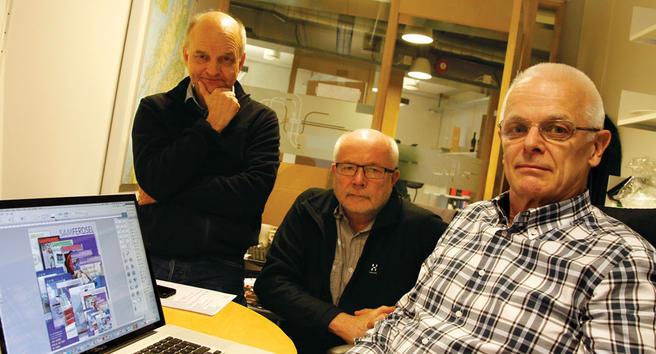Foto i Samferdsel-redaksjonen