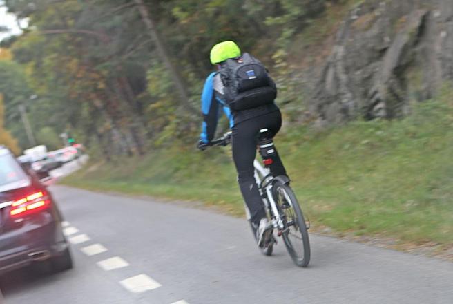 Syklist. foto