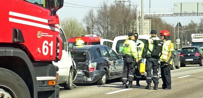 Foto. Trafikkulykke