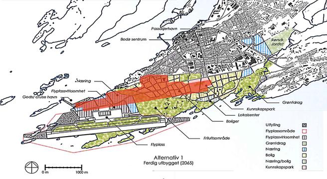 Kart Bodø