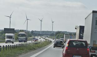 Foto. Motorvei i Sverige