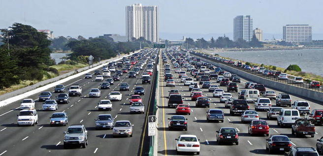 Foto Motorvei i California