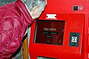 Foto. Billettautomat