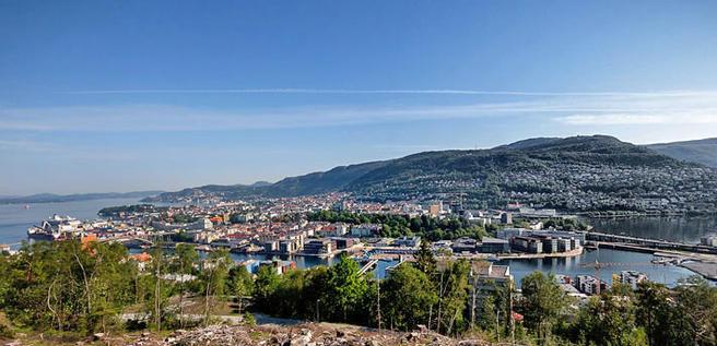 Foto av Bergen
