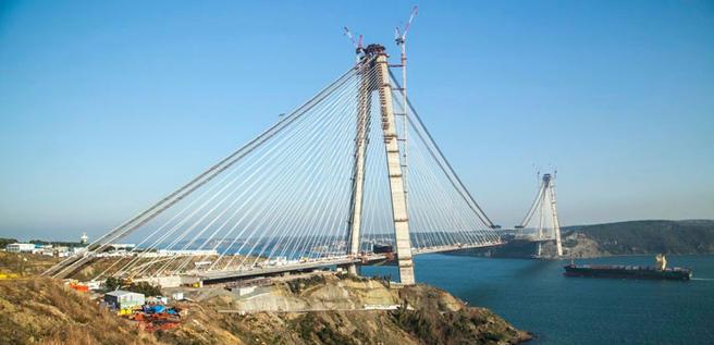 Foto av Yavuz Sultan Selim-broen