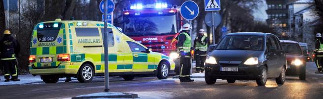 Foto trafikkulykke