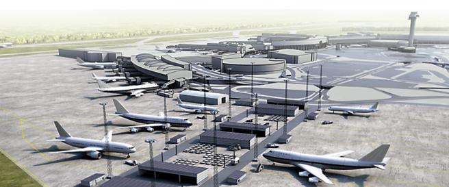 illustrasjon arlanda lufthavn
