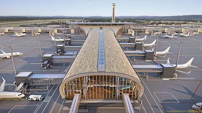 Gardermoen - ny terminal