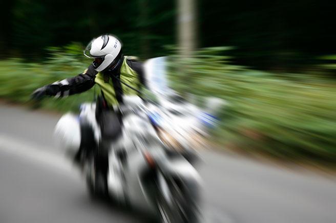 Foto politimotorsykkel