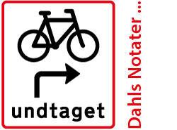 Dansk sykkelskilt