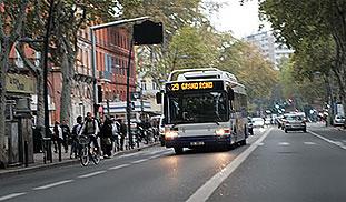 Dyrere kollektivtransport i Toulouse? Iallfall ikke uten protester. Foto: F. Dahl.