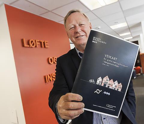 Næringspolitisk sjef for Bergen Næringsråd, Atle Kvamme, er klar på at all nyttetransport må bli bortimot fossilfri innen 2025.