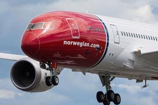 Ikke nødvendigvis bra for Norwegian at USA får Donald Trump som president, påpeker Einar Sørensen. Foto: Norwegian