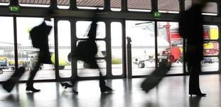 Sterk passasjervekst på Skandinavias hovedflyplasser i fjor, og sterkest var den på Kastrup (bildet). Foto: Jean Schweitzer/Scandinavian Stockphoto.
