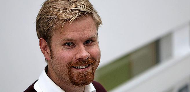 En jobb han ønsket seg: Paal Brevik Wangsness henvendte seg til TØI med melding om at han gjerne ville ha arbeid der. Foto: F. Dahl.