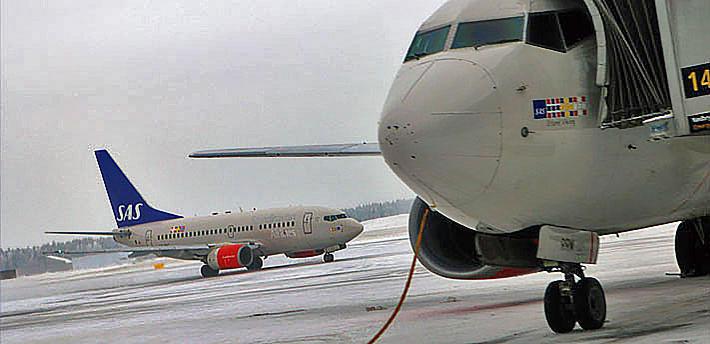 SAS skal etablere seg i Irland «i en tid der rammene for europeisk luftfart er preget av stor usikkerhet», poengterer Einar Sørensen. Foto: F. Dahl.