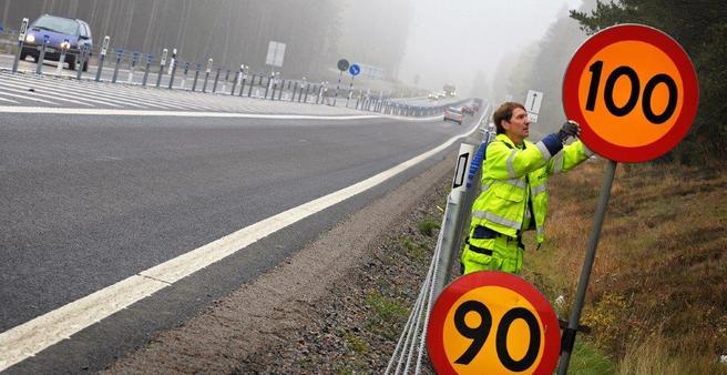 Foto av trafikksituasjon