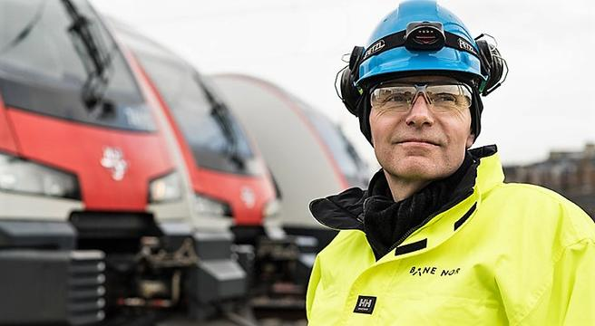 Gorm Frimannslund, sjefen i Bane NOR: «Vi bør ikke havne i en situasjon hvor vi bygger ny jernbane mens vi ikke er i stand til å ta vare på den vi har.» Foto: Thor Erik Skarpen/ Bane NOR.