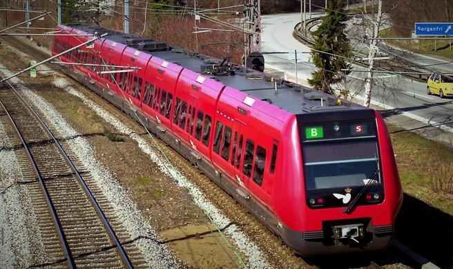 Kanskje førerløse S-tog i København-området innen år 2030. Foto: René Strandbygaard/DSB.