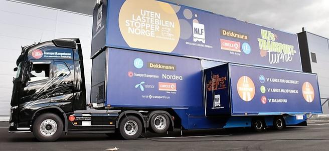 Denne doningen skal bidra til at NLF får landsdekkende oppmerksomhet omkring sitt åpenbart kommersielt sponsede fremstøt. Foto: NLF/ Stein Inge Stølen.