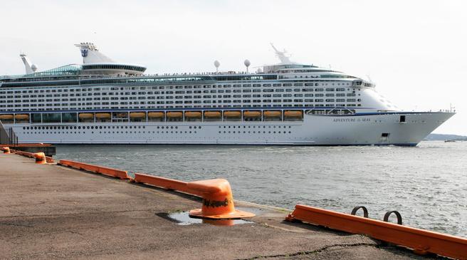 Samarbeidspartnerne bebuder reduserte havneavgifter, her i Oslo og andre steder i landet, for cruiseskip som bidrar med gode miljøløsninger. Foto: F. Dahl.