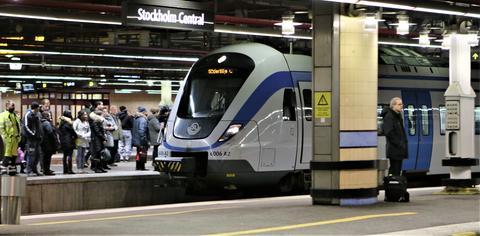 Blant det Trafikverket går inn for i jernbanesektoren, er utbygging til fire spor på strekningen Uppsala-Stockholm. Foto: Samferdsel.