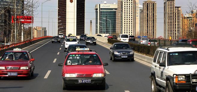Kina, et digert marked for bilindustrien. Foto: Jean Schweitzer/Scandinavian Stockphoto.