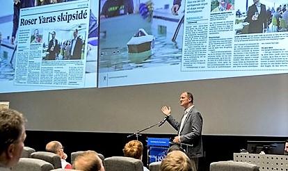 Konkurransen ble lansert under en konferanse på Kongsberg i dag. Foto: SD/Tor Midtbø.