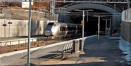 Annerledes reise for mange når Lieråsen tunnel blir oppgradert. Foto: Njål Svingheim.
