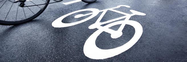 Sverige satser, som mange andre land, på syklingen. Foto: Trafikverket.
