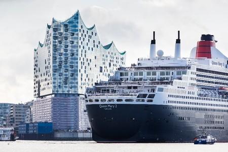 Flere cruiseskipsanløp og flere cruisepassasjerer fra år til år i Hamburg.