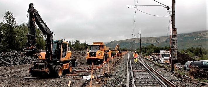 Forpliktende avtaler mellom staten og kommunene/regionene vil bidra til at jernbaneinvesteringene får en større miljøeffekt og samfunnsnytte, mener kronikkforfatteren. Illustrasjonsfoto: Foto: Njål Svingheim/Jernbanedirektoratet.
