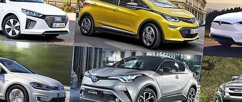 Mange nye biler – og en av fem er nullutslippsbiler. Illustrasjon: OFV.