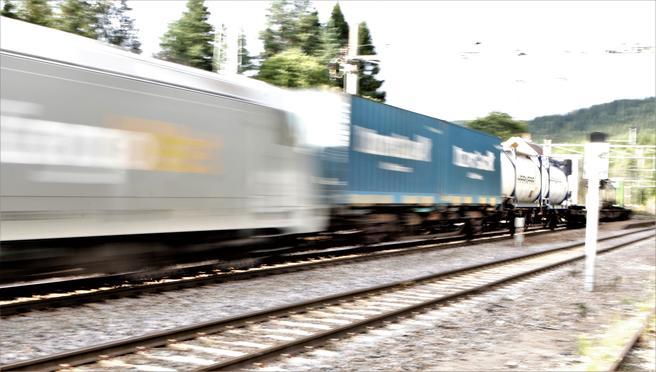 Rammevilkårene for godstogvirksomheten er ikke gode nok, mener NSB. Foto: F. Dahl.