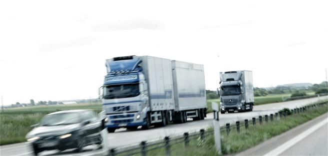 Nyere tunge kjøretøy har lave utslipp i virkelig trafikk – gitt at rensesystemet ikke er manipulert. Foto: F. Dahl.