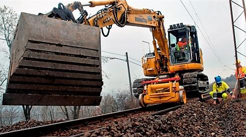 Drift og vedlikehold av jernbanen er aktuelt for konkurranseutsetting. Foto: Njål Svingheim.