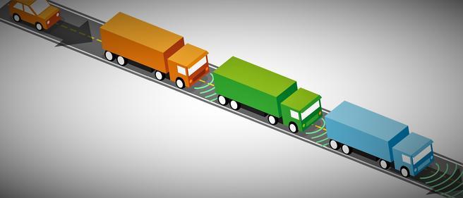 Tre vogntog skal delta i den forestående testen i Troms. Illustrasjon: Statens vegvesen.