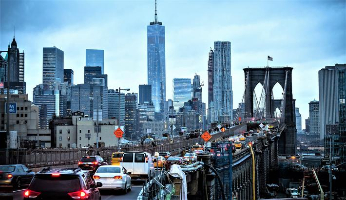 El-bilsatsing i New York, et mulig marked for norske bedrifter. Foto: kastoimages/Scandinavian Stockphoto.